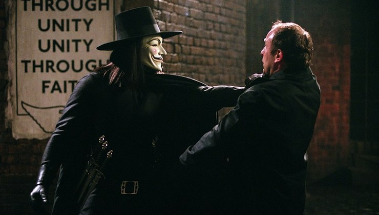 Apologize to No One: V for Vendetta is More Important Now Than it