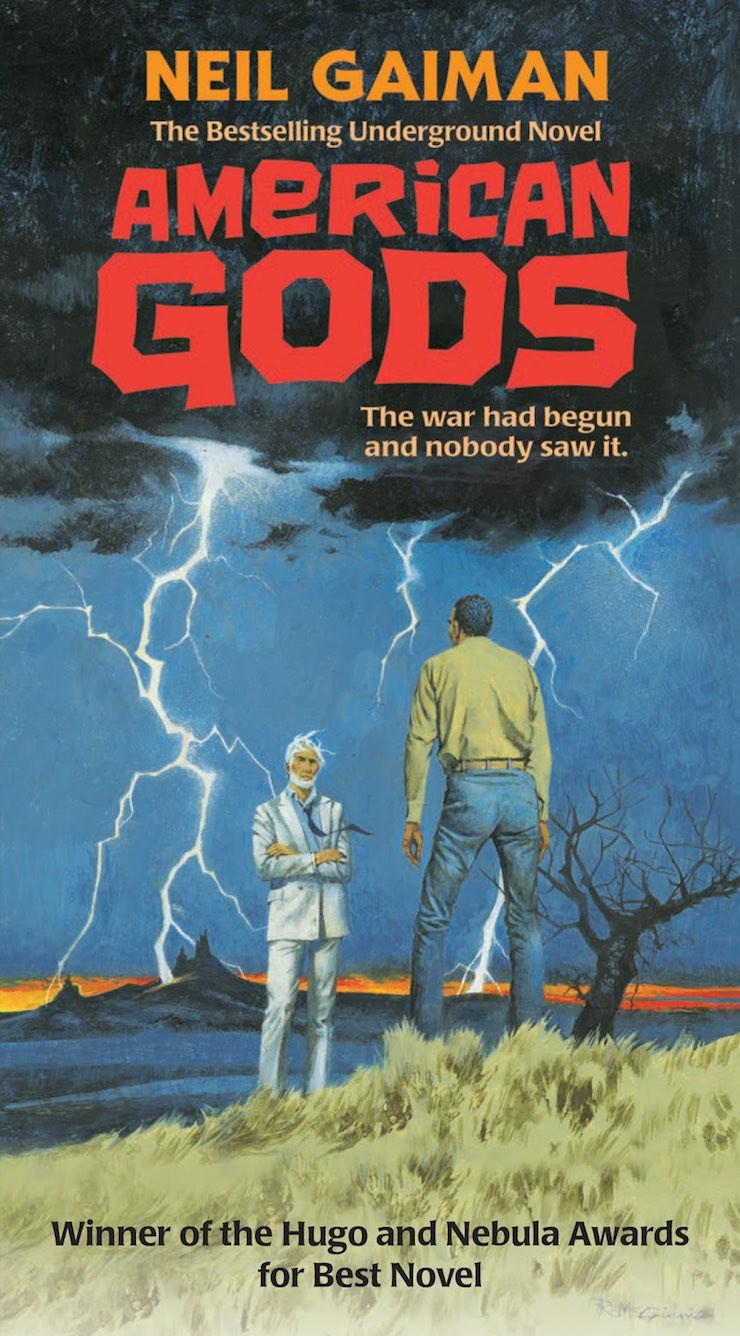 American Gods paperback cover