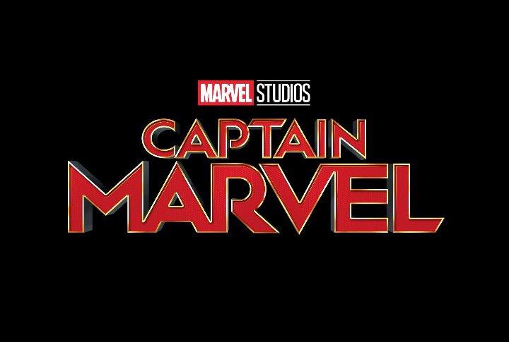 Captain Marvel movie logo