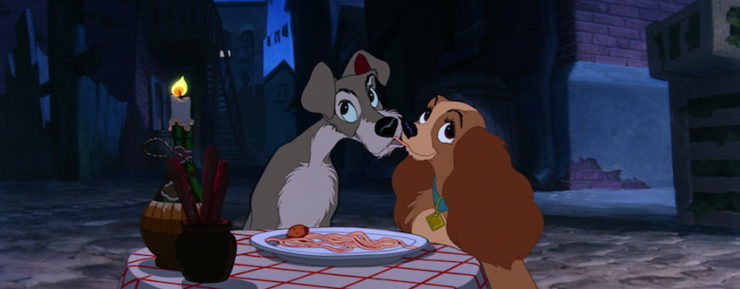 The First True Disney Romance Lady And The Tramp Tor Com