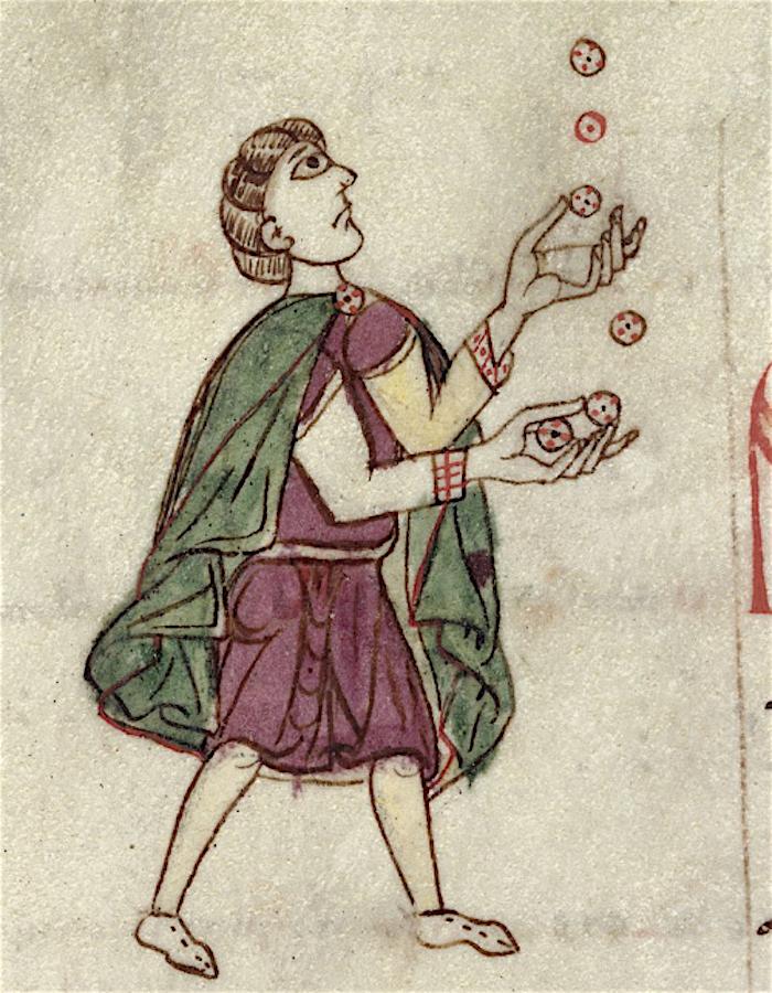 Medieval Pokemon Juggling