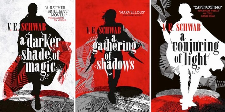 Image result for a darker shade of magic trilogy uk covers