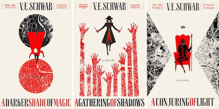 Image result for shades of magic trilogy