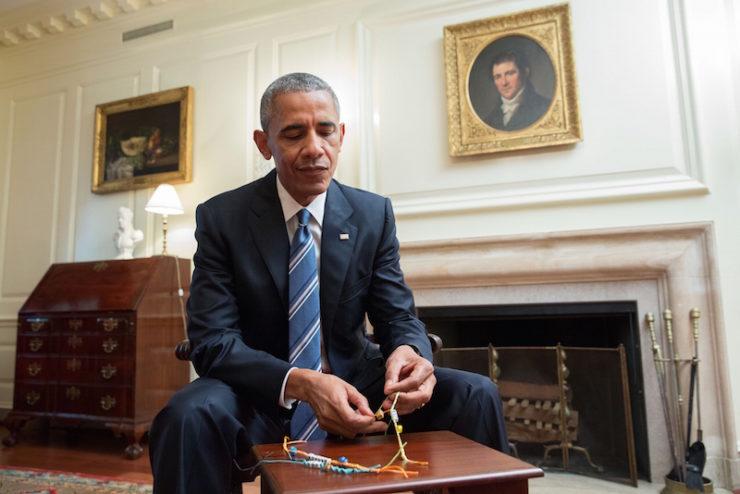 Barack Obama friendship bracelet Joe Biden