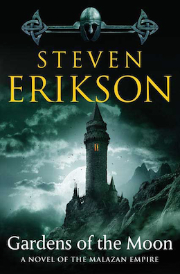 Gardens of the Moon Steven Erikson Steve Stone cover
