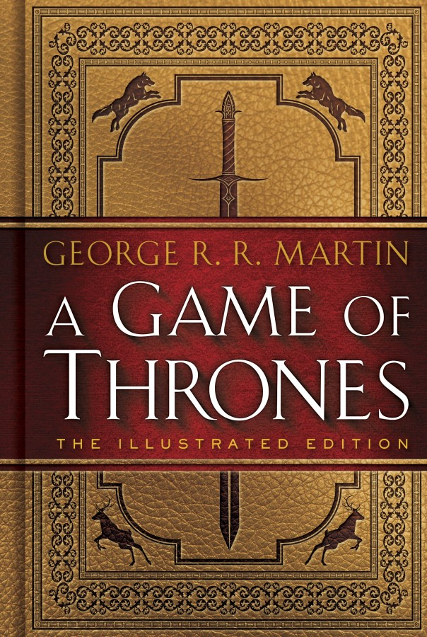A Game of Thrones 20th anniversary illustrated edition book cover George R.R. Martin