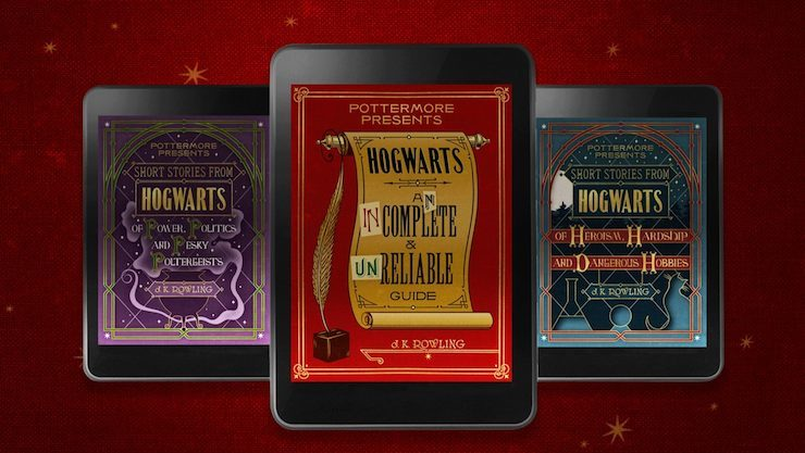 Pottermore Presents ebooks series covers