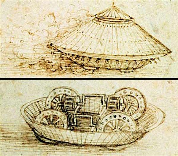 Leonardo's Tank Design