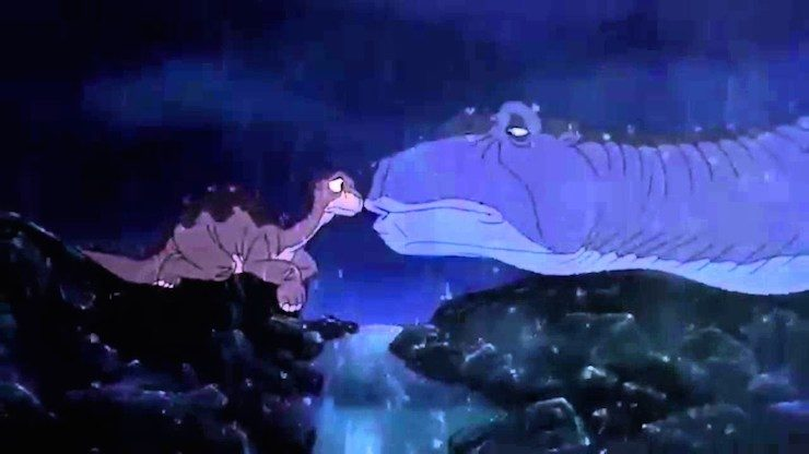 Littlefoot Mother's death, Land Before Time