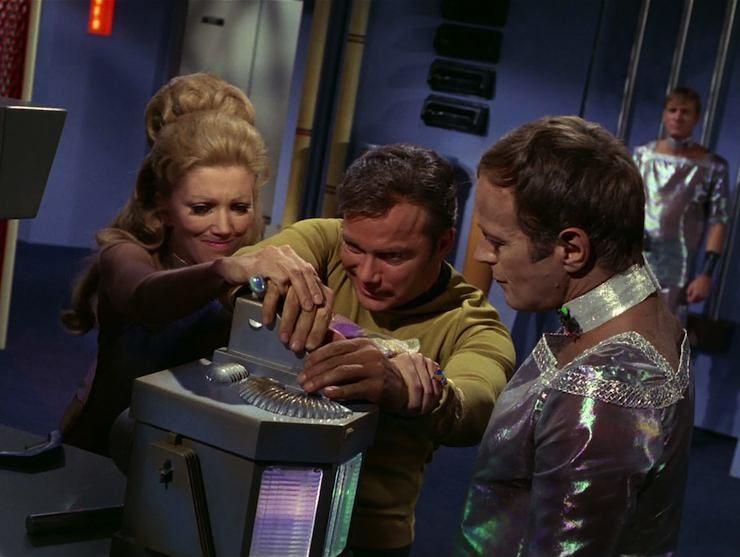 Star Trek, the original series, Wink of An Eye, season 3
