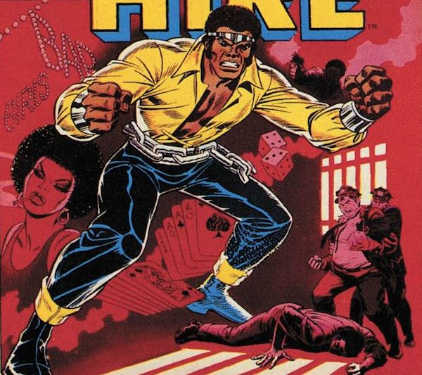 Hero for Hire #1; cover art by John Romita