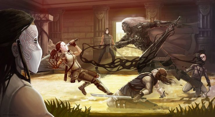 """Blacksword Visits"" by Shadaan and thetinyshiloh"