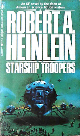 A Genre Cornerstone Starship Troopers By Robert A Heinlein Torcom - Heinlein us map