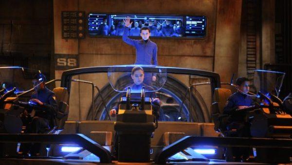 Ender's Game Command School simulation battle