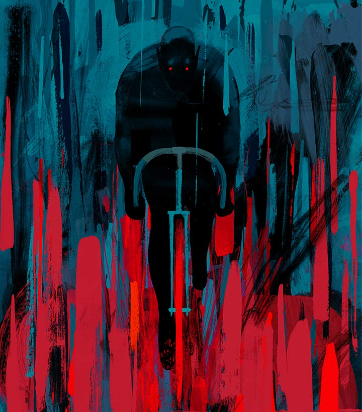 Image result for the night cyclist