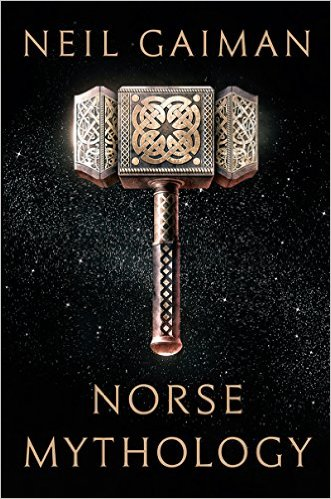 Image result for neil gaiman norse mythology cover