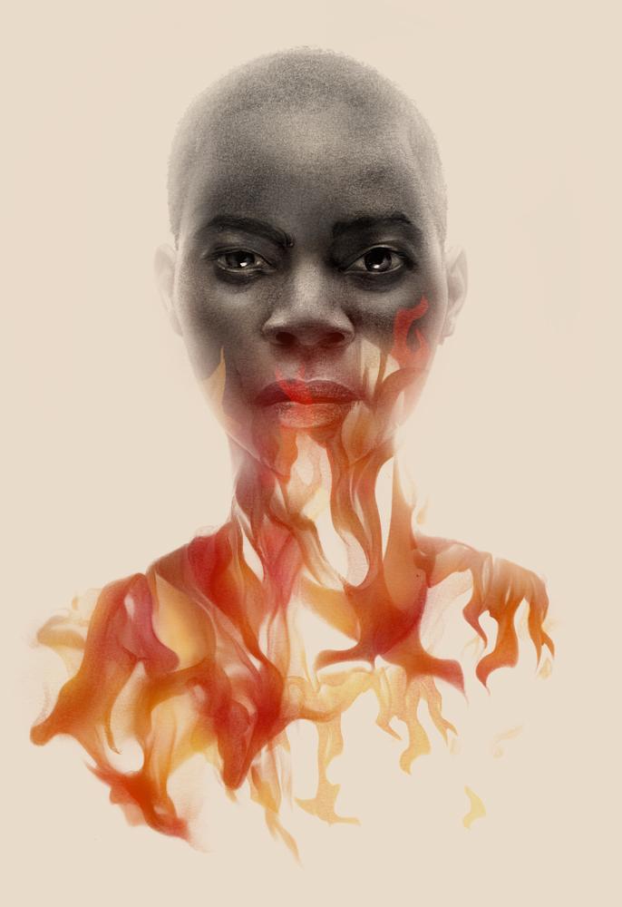 Greg Ruth Nnedi Okorafor The Book of Phoenix German edition illustration cover