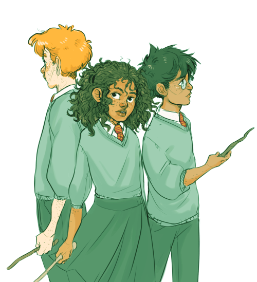 trio fighting