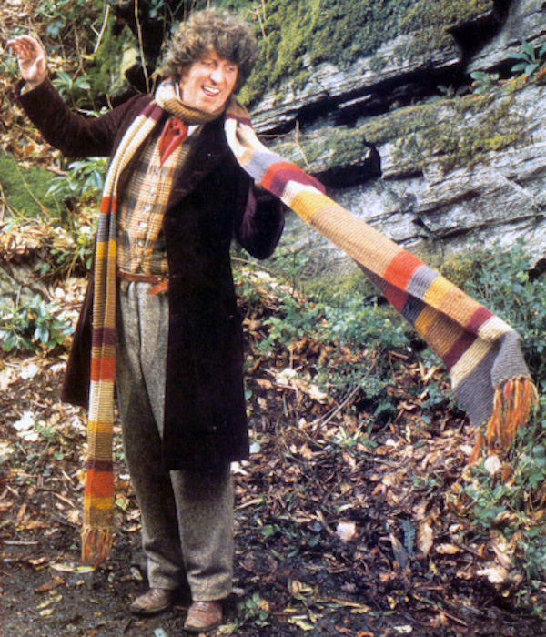 knit your own doctor who scarf with