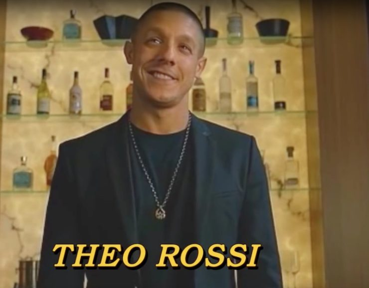 Featuring Theo Rossi as Shades!