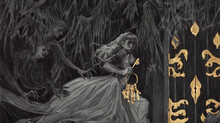 Bluebead's Bride art by Rebecca Yanovskaya