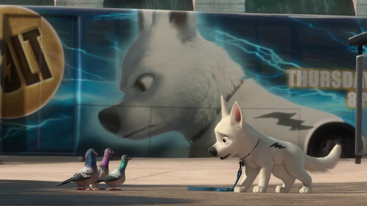 An Adorable Dog In An Unbelievable Premise Disney S Bolt Tor Com