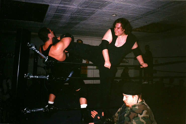 Matt Wallace wrestling match