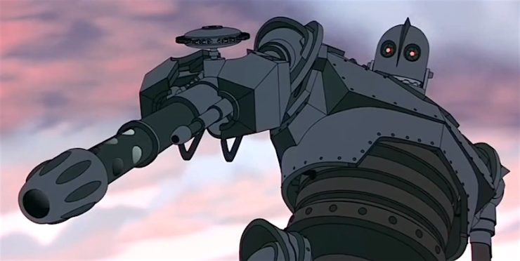 The Iron Giant is not a gun