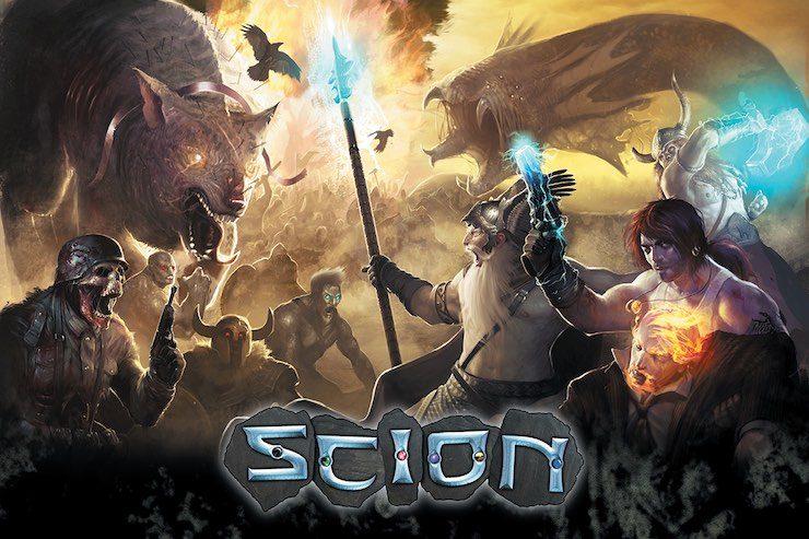 Art from Scion: Ragnarok by Trevor Claxton