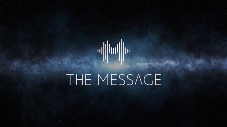 The Message podcast sci-fi Mac Rogers alien gifts