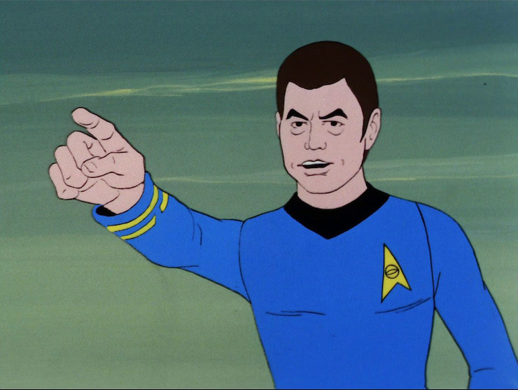 Star Trek The Animated Series Yesteryear