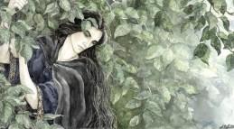 Lúthien Prepares her Escape, Artwork by Anke Eissmann