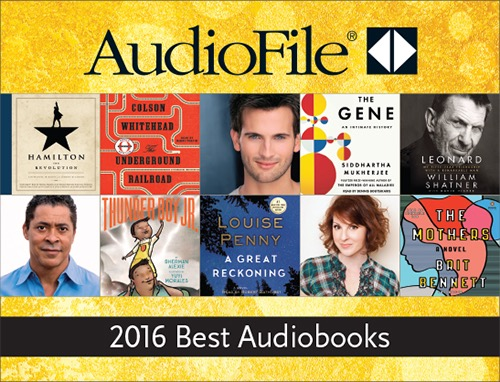 AudioFile Magazine Best Audiobooks of 2016 free multimedia ezine