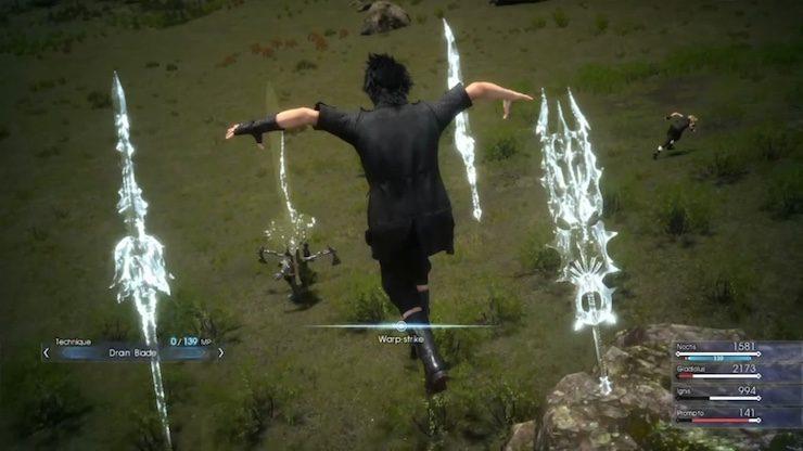 Final Fantasy 15 armiger