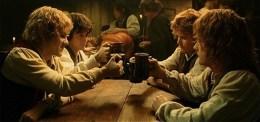 Hobbits drinking