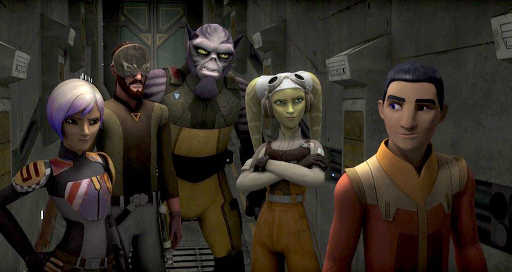 Star Wars: Rebels, season 3