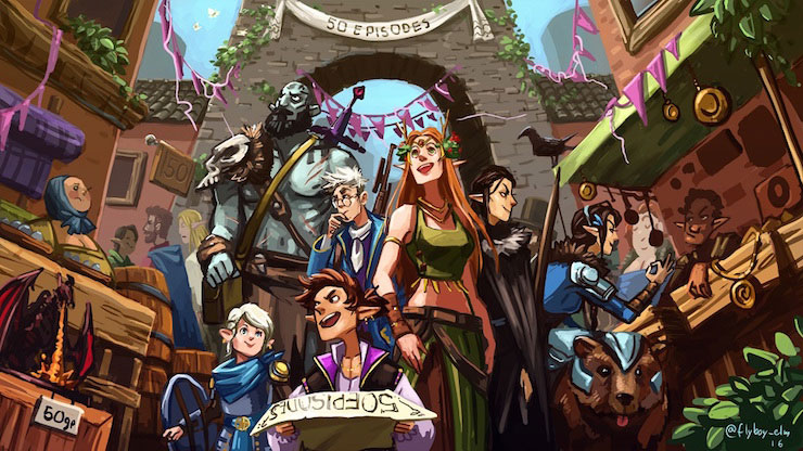 Gaming Vicariously: Rolling the Dice with Critical Role