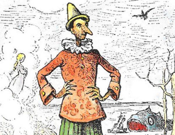 Illustration by Enrico Mazzanti (1883)