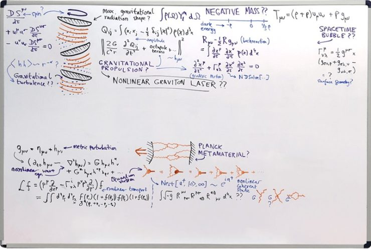 Arrival whiteboard interstellar travel Stephen Wolfram Research