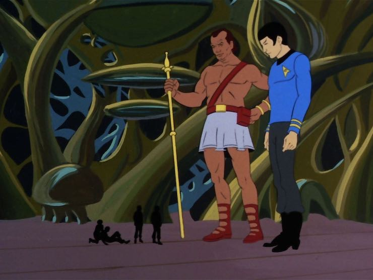 Star Trek, the Animated Series, The Infinite Vulcan