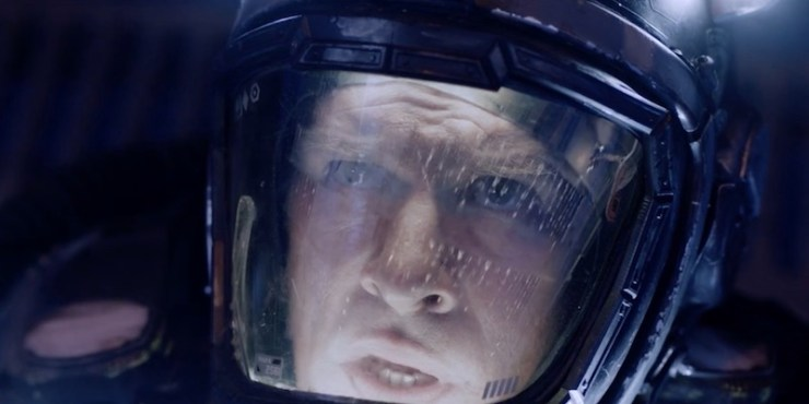 Miller and the Nauvoo in The Expanse