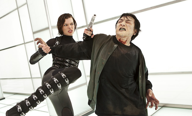 Milla Jovovich stars in Screen Gems' action horror RESIDENT EVIL RETRIBUTION.
