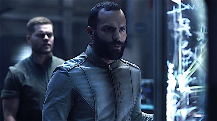 Amos and Cortazar in The Expanse