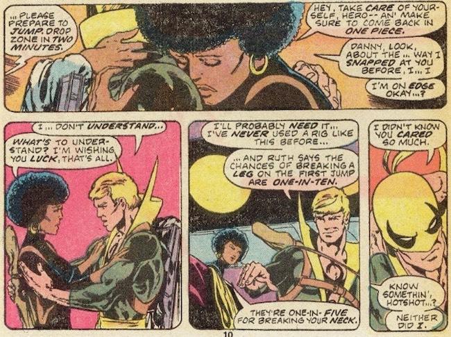 Iron Fist #6 (1976); Art by John Byrne