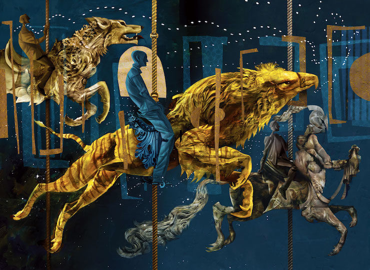 American Gods by Neil Gaiman, illustrations by Dave McKean, Folio Society Edition