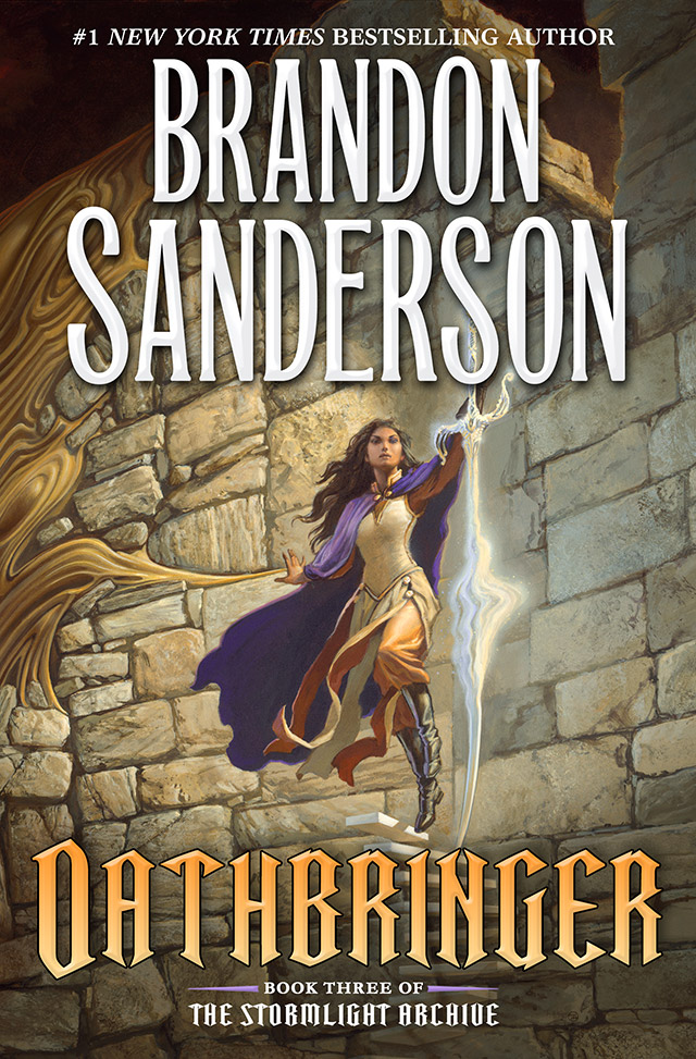 Book Cover Archive ~ Revealing the cover to oathbringer third book in
