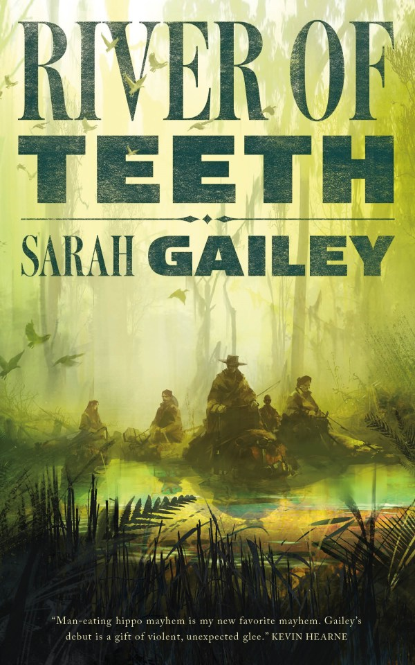 Sarah Gailey River of Teeth Richard Anderson book cover