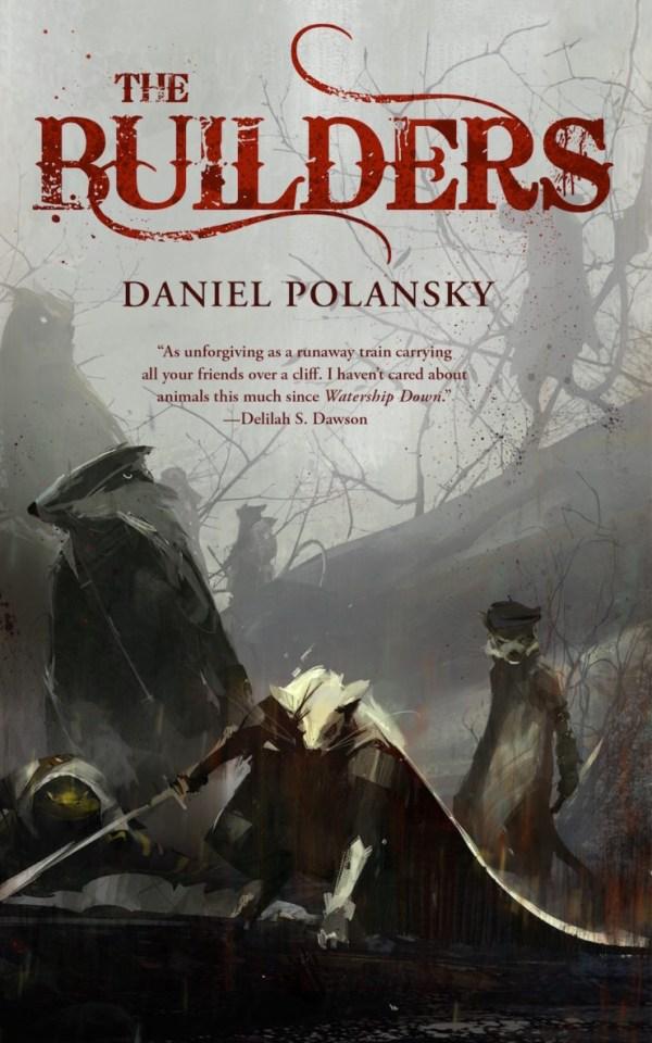 The Builders Daniel Polansky book cover Richard Anderson