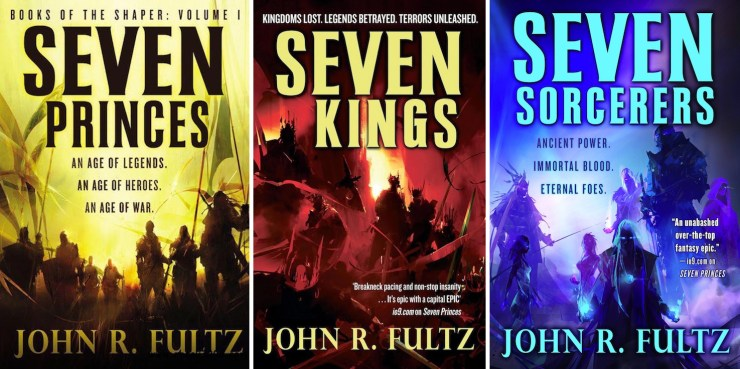 Richard Anderson John Fultz book covers