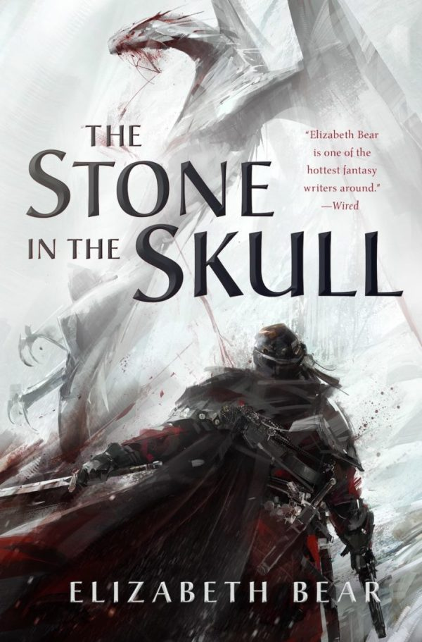Richard Anderson SFF book covers The Stone in the Skull Elizabeth Bear
